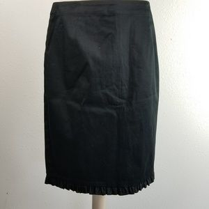 Allison Taylor black pencil skirt